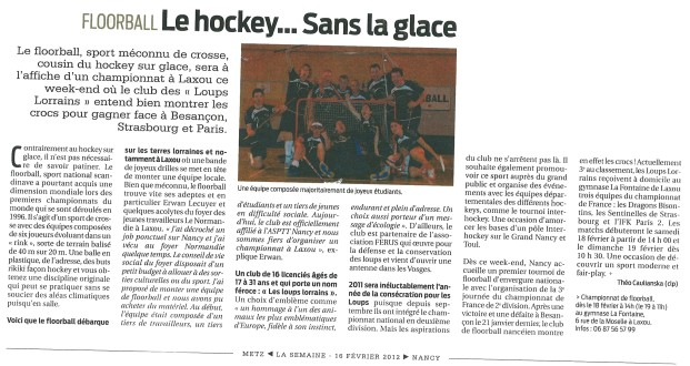 La Semaine de Nancy 16.02.2012